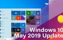 bản cập nhật windows 10 May 2019