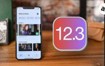 ios 12.3 trên iphone và ipad