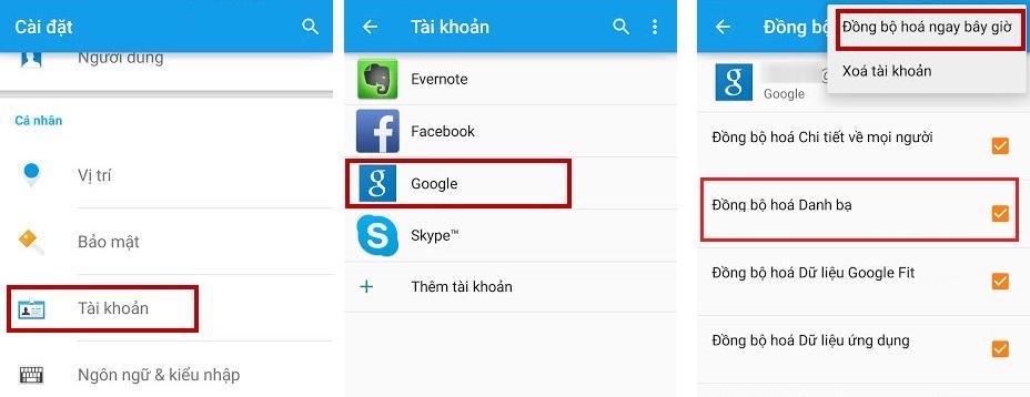 Cách chuyển danh bạ từ Android sang iOS nhanh chóng
