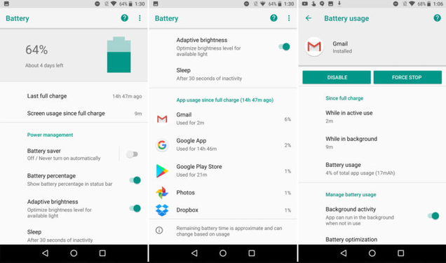 Android O sẽ giúp bạn quên đi nỗi lo về pin nhờ tính năng này