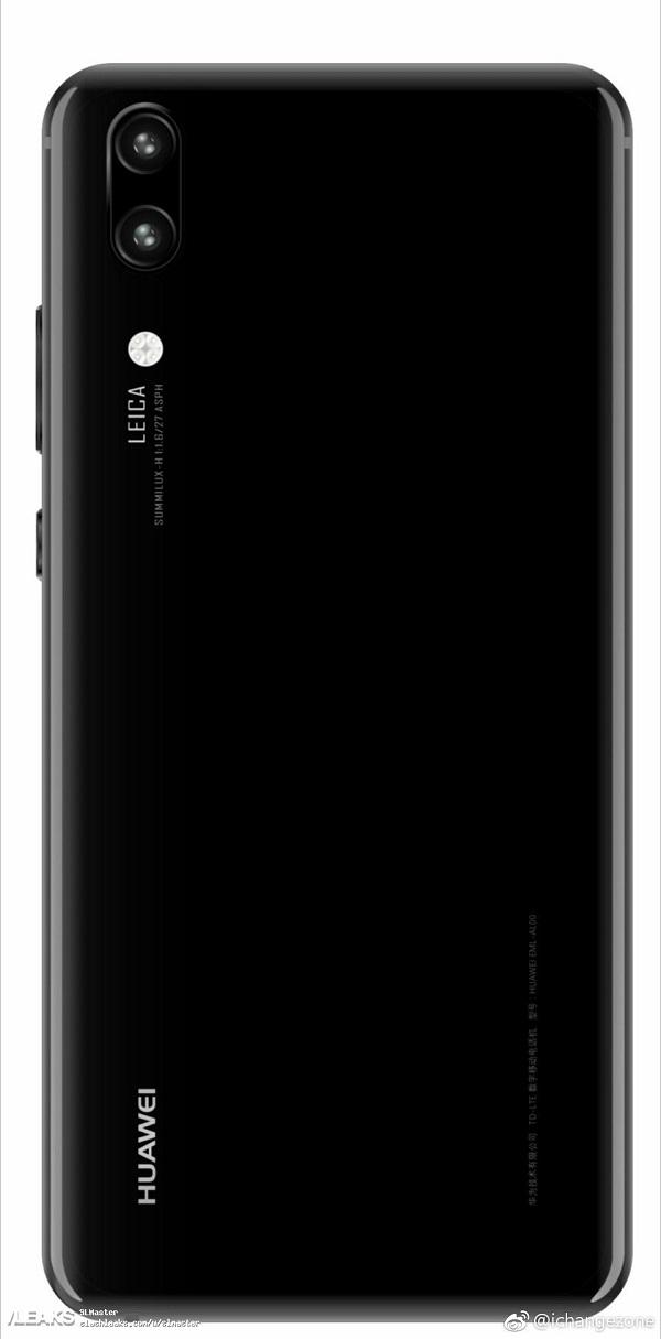 Lộ ảnh Huawei P20 với camera kép, P20 Plus có 3 camera mặt sau