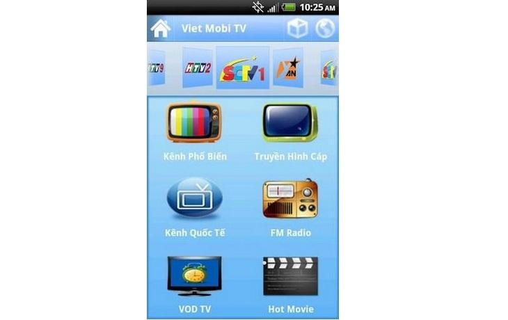 Top 12 phần mềm xem tivi online trên điện thoại android, iOS