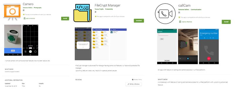 Đây là 3 ứng dụng gián điệp trên Google Play Store, bí mật thu thập dữ liệu của người dùng