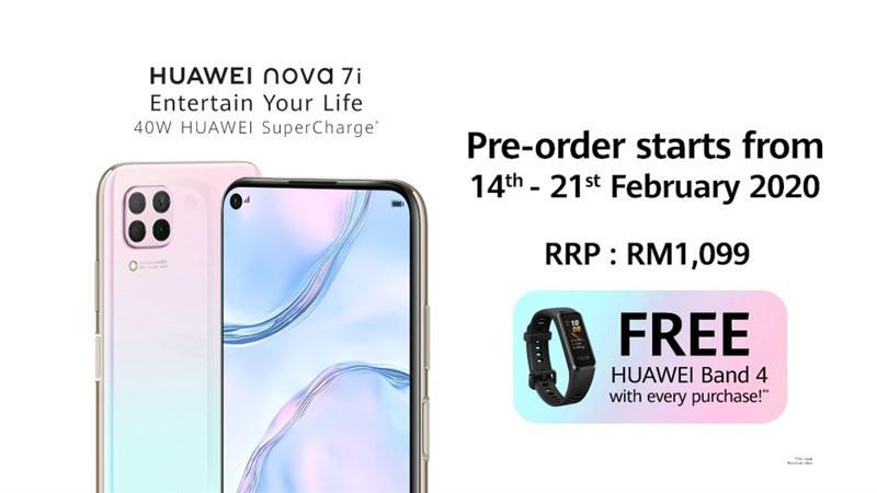 Huawei Nova 7i ra mắt: Màn hình 6.4 inch, chip Kirin 810, pin 4.200 mAh, giá 6.1 triệu đồng