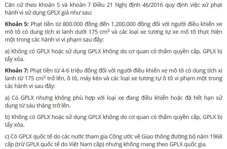 kiểm tra GPLX