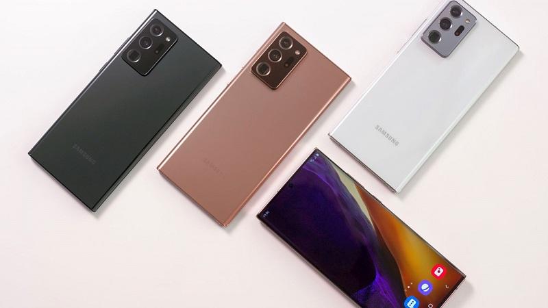 Galaxy Note 20 và Galaxy Note 20 Ultra lộ hình ảnh và video trên tay