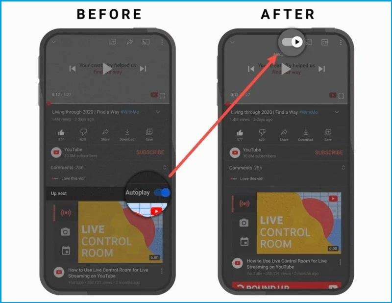 Google cập nhật ứng dụng YouTube dành cho iOS với các điều hướng cử chỉ tiện lợi cùng những đề xuất mới