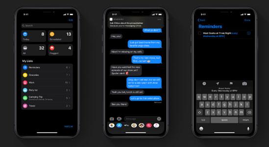 tính năng mới được cập nhật trên iOS 13