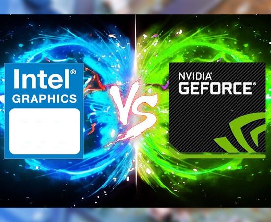 chạy chung Nvidia vs Intel HD