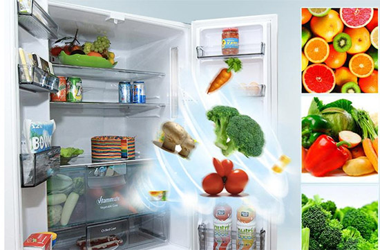 Duy trì độ ẩm, thực phẩm tươi lâu