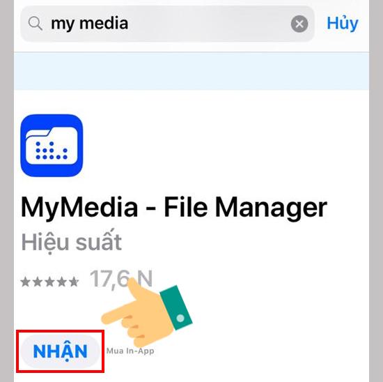 tải ứng dụng MyMedia cho iPhone