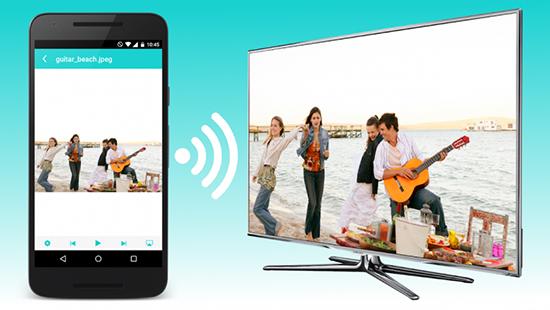 dễ dàng trình chiếu hình ảnh hay màn hình điện thoại lên tivi