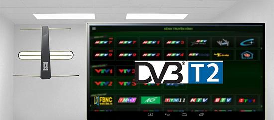 Truyền hình kỹ thuật số mặt đất DVB-T2