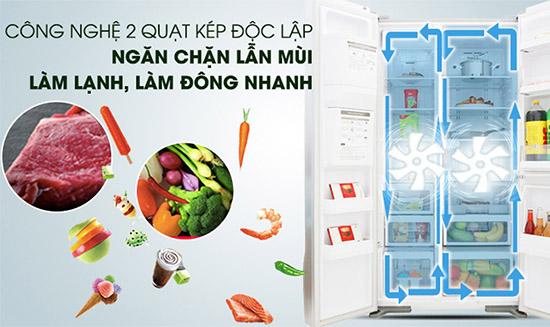 Khả năng khử mùi tủ lạnh