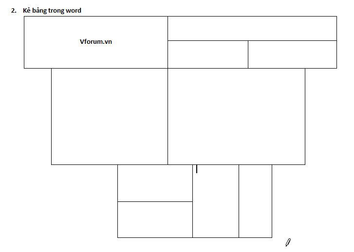 Cách kẻ, tạo bảng trong word 2007 2010 2013 - Insert Table
