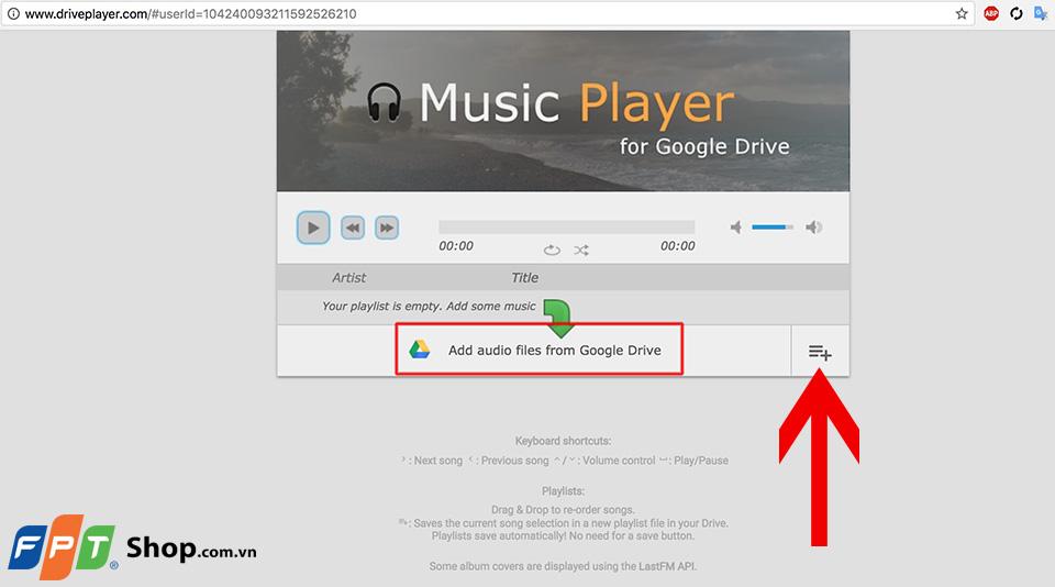 Hướng dẫn tạo danh sách phát nhạc Chrome 05