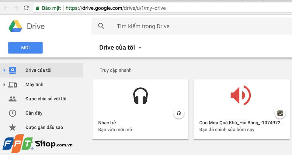 Hướng dẫn tạo danh sách phát nhạc Chrome 09