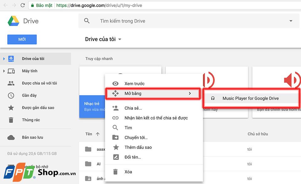 Hướng dẫn tạo danh sách phát nhạc Chrome 10