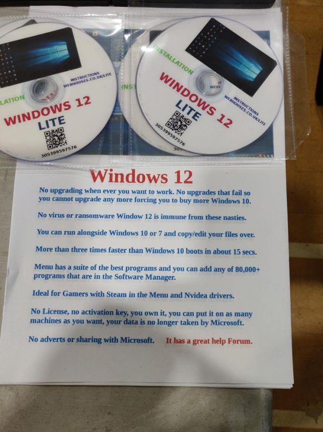 Xuất hiện hệ điều hành Windows 12 Lite với tốc độ nhanh gấp 3 lần Windows 10 hiện tại - Ảnh 1.