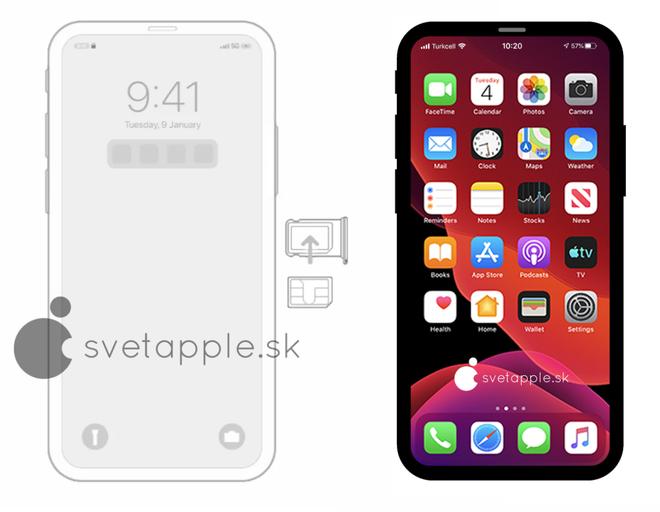 Đoạn mã iOS 14 tiết lộ Apple có thể sẽ ra mắt một chiếc iPhone 12 Pro không có tai thỏ - Ảnh 3.