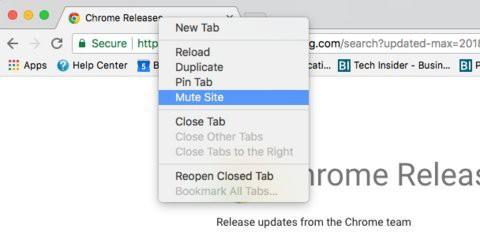 Tính năng mới Mute Site; của Chrome sẽ đảm bảo trang web không bao giờ phát âm thanh gây phiền phức khi duyệt web