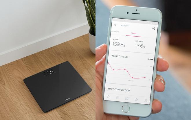 Không còn phải vắt óc nhớ các chỉ số sức khoẻ trước đây của mình khi bạn đã có chiếc cân thay bạn lưu mọi dữ liệu.