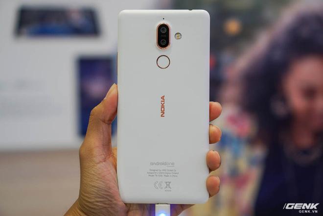 Hôm nay, Nokia 6 (2018) và Nokia 7 Plus chính thức ra mắt tại Việt Nam, giá lần lượt 5,99 triệu đồng và 8,99 triệu đồng - Ảnh 8.