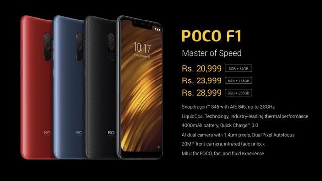Xiaomi ra mắt POCOPHONE POCO F1: Snapdragon 845, pin 4000mAh, giá 7 triệu đồng - Ảnh 28.