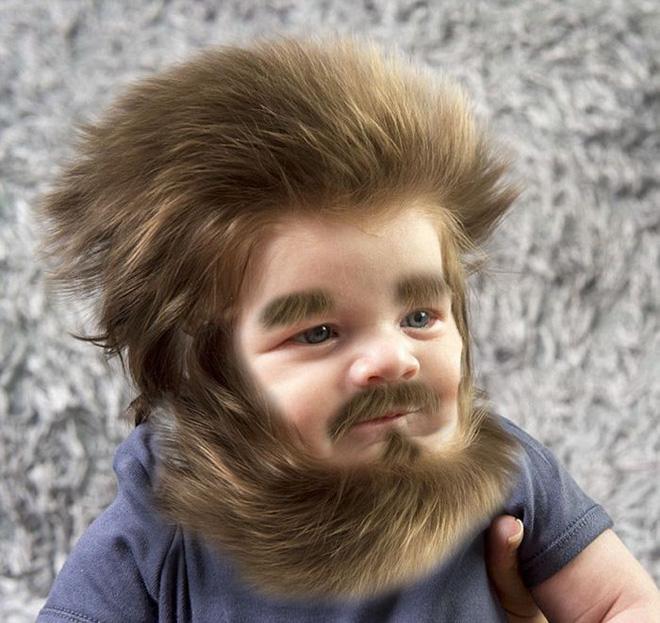 Được photoshop theo vô vàn cách đáng yêu, Bé Gấu tóc xù trở thành trung tâm chú ý của cộng đồng mạng - Ảnh 4.