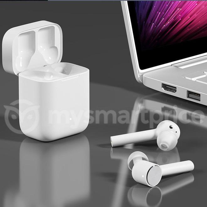 Tai nghe không dây Xiaomi Mi Freedom Buds Pro lộ diện, thiết kế giống Apple AirPods - Ảnh 2.