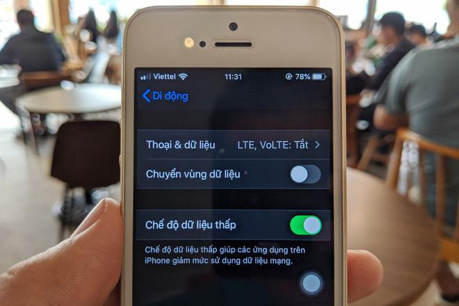 Cách tiết kiệm dung lượng 3G/4G trên iPhone chạy iOS 13 - Ảnh 1.