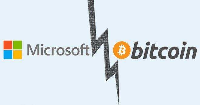 Bitcoin bị Microsoft cấm thanh toán - 1