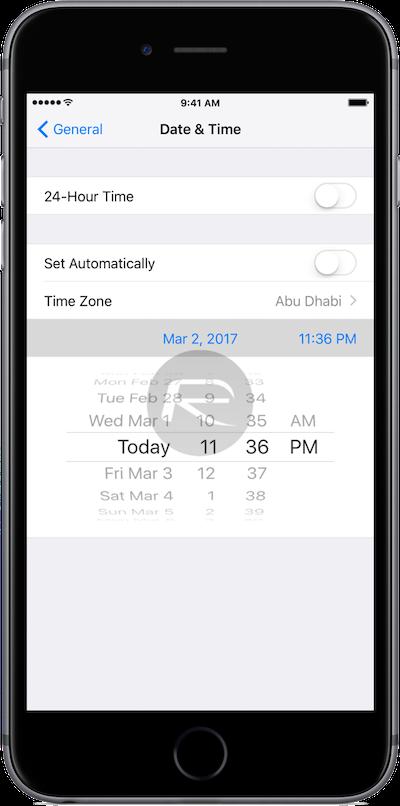 Cách thay đổi và chỉnh sửa thời gian trên iPhone 2