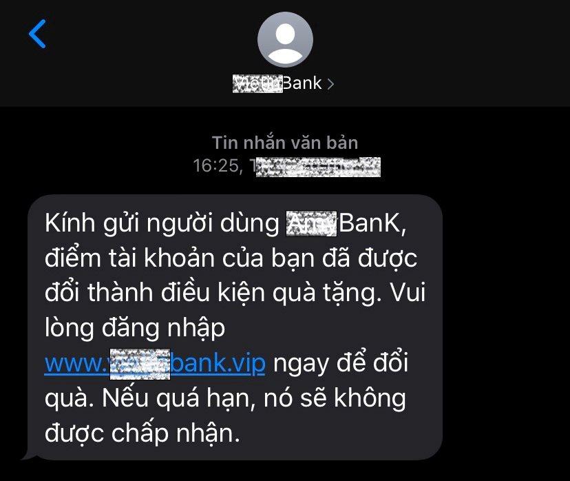 Cảnh báo thủ đoạn lừa đảo mới của tội phạm công nghệ cao | Bộ Công an cảnh báo thủ đoạn giả mạo tin nhắn thương hiệu ngân hàng để lừa chiếm đoạt tiền của người dân