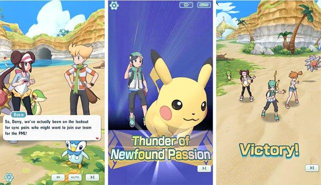 Chiến thắng để lên cấp Pokemon master