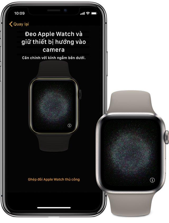 kich hoat esim apple watch