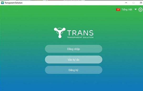 Ứng dụng Trans dạy học online miễn phí