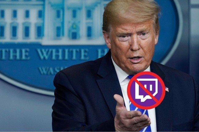 Tài khoản của ông Donald Trump trên Twitch bị khóa tạm thời