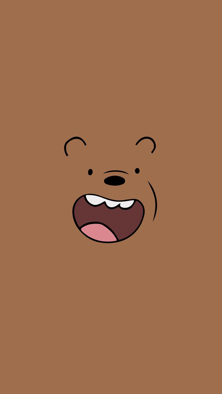hinh nen we bare bear cho dien thoai
